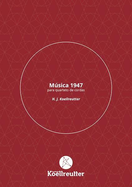 Partitura | Música 1947